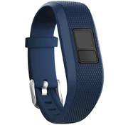 Strap-it® Garmin Vivofit Junior 1 / Junior 2 siliconen bandje (donkerblauw)