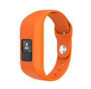 Strap-it® Garmin Vivofit Junior 1 / Junior 2 sport bandje (oranje)