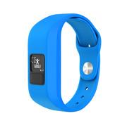 Strap-it® Garmin Vivofit Junior 1 / Junior 2 sport bandje (fel blauw)
