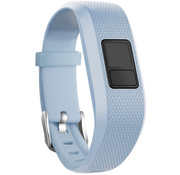 Strap-it® Garmin Vivofit 3 siliconen bandje (lichtblauw)