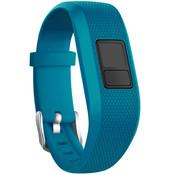 Strap-it® Garmin Vivofit 3 siliconen bandje (blauw)