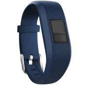 Strap-it® Garmin Vivofit 3 siliconen bandje (donkerblauw)