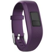 Strap-it® Garmin Vivofit 3 siliconen bandje (paars)