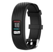 Strap-it® Garmin Vivofit 4 siliconen bandje (zwart)