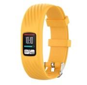 Strap-it® Garmin Vivofit 4 siliconen bandje (geel)