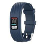 Strap-it® Garmin Vivofit 4 siliconen bandje (donkerblauw)