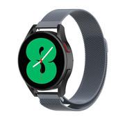 Strap-it® Samsung Galaxy Watch 4 - 44mm Milanese band (space grey)