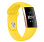 Strap-it® Fitbit Charge 3/4 sportband (geel)