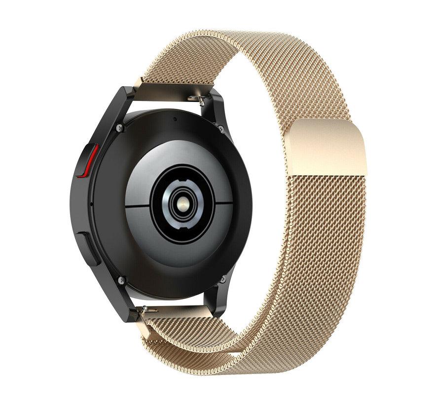 Strap-it® Samsung Galaxy Watch 4 - 40mm Milanese band (champagne)