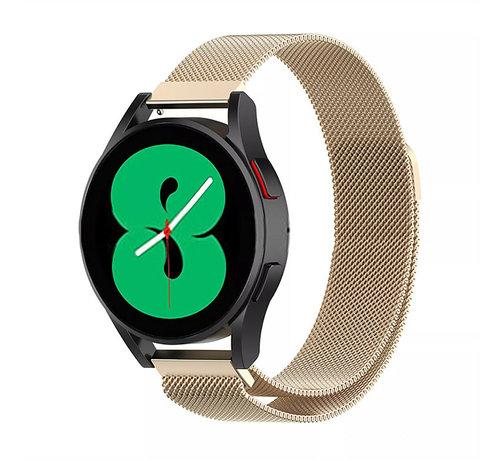 Strap-it® Strap-it® Samsung Galaxy Watch 4 - 44mm Milanese band (champagne)