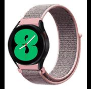 Strap-it® Samsung Galaxy Watch 4 - 44mm nylon band (pink sand)