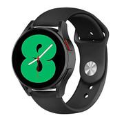 Strap-it® Samsung Galaxy Watch 4 sport band (zwart)