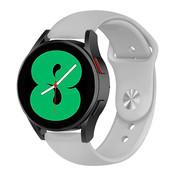 Strap-it® Samsung Galaxy Watch 4 sport band (grijs)