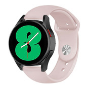 Strap-it® Samsung Galaxy Watch 4 sport band (roze)