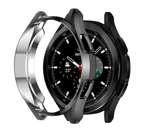 Strap-it® Strap-it® Samsung Galaxy Watch 4 Classic 42mm TPU beschermhoes (zwart)