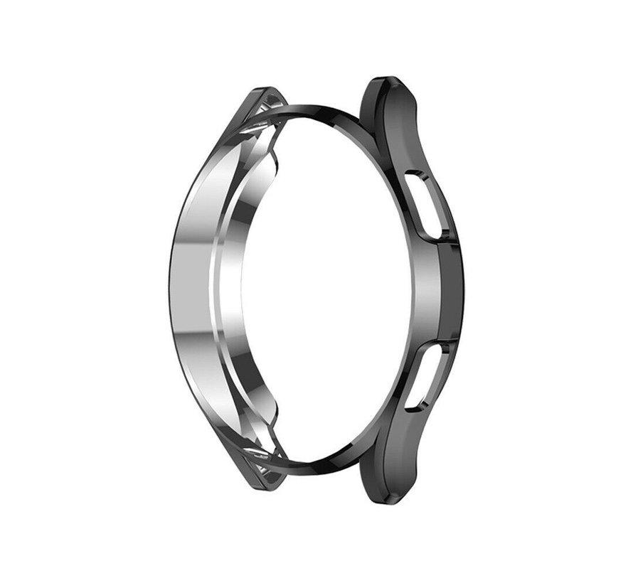 Strap-it® Samsung Galaxy Watch 4 Classic 42mm TPU beschermhoes (zwart)