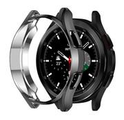 Strap-it® Samsung Galaxy Watch 4 Classic 46mm TPU beschermhoes (zwart)