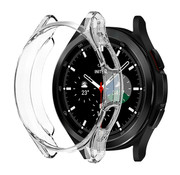 Strap-it® Samsung Galaxy Watch 4 Classic 46mm TPU beschermhoes (transparant)