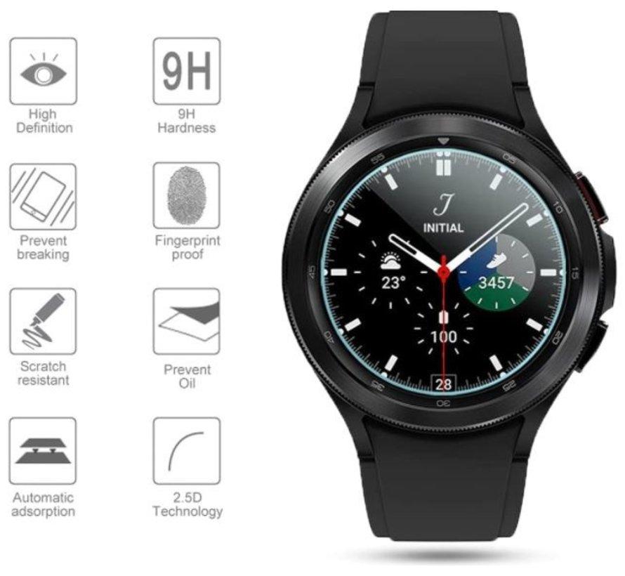 Strap-it® Samsung Galaxy Watch 4 Classic 42mm screenprotector (glas)