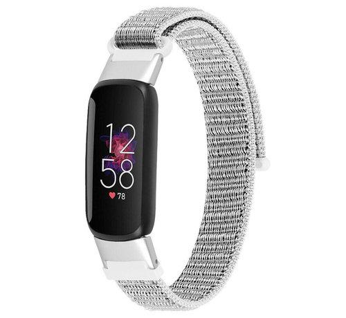 Strap-it® Strap-it® Fitbit Luxe nylon bandje (zeeschelp)