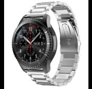 Strap-it® Samsung Galaxy Watch stalen band 45mm / 46mm (zilver)