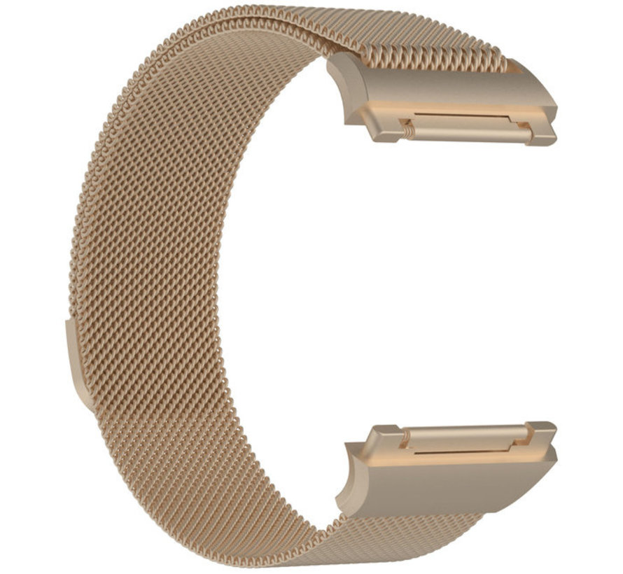 Strap-it® Fitbit Ionic Milanese band (champagne)