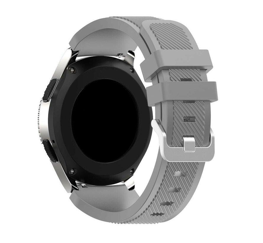 Strap-it Samsung Galaxy Watch 4 - 40mm siliconen bandje (grijs)