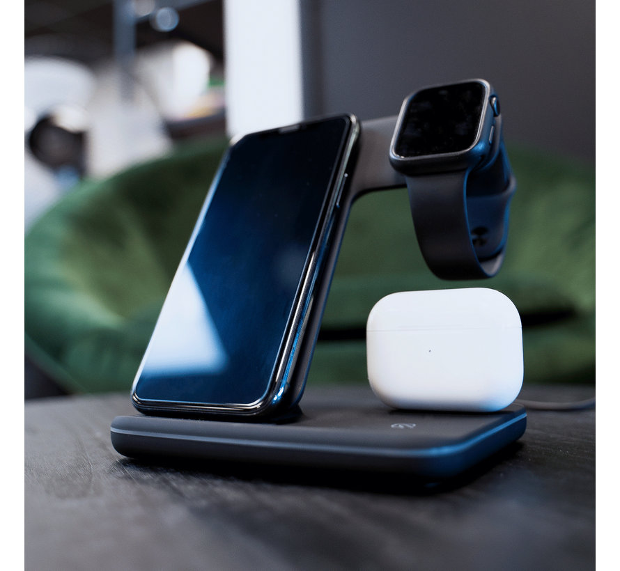 Coverzs 3-in-1 Draadloze Docking station