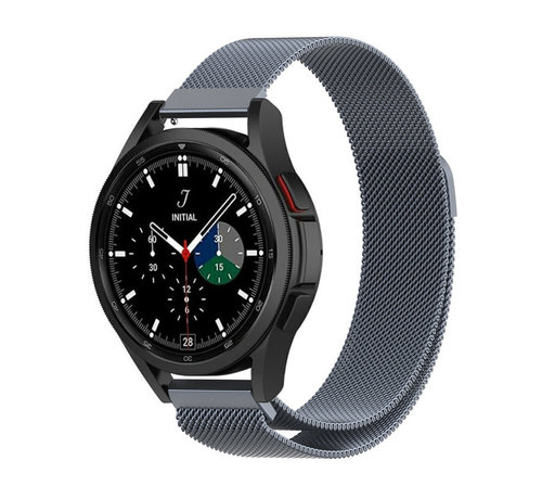 Strap-it® Strap-it® Samsung Galaxy Watch 4 Classic 42mm Milanese band (space grey)