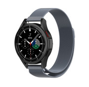 Strap-it® Samsung Galaxy Watch 4 Classic 46mm Milanese band (space grey)