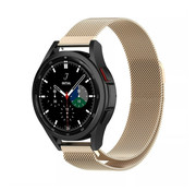 Strap-it® Samsung Galaxy Watch 4 Classic 42mm Milanese band (champagne)