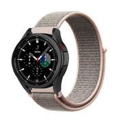 Strap-it® Samsung Galaxy Watch 4 Classic nylon band (pink sand)
