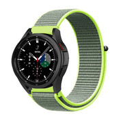 Strap-it® Samsung Galaxy Watch 4 Classic nylon band (fluoriserend)