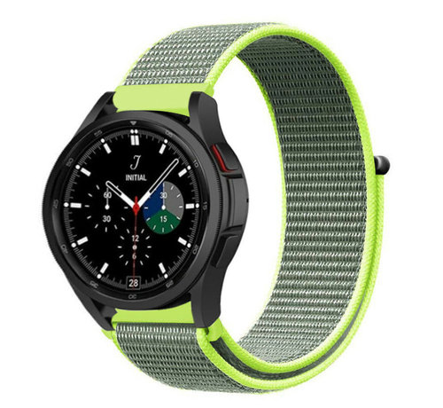 Strap-it® Strap-it® Samsung Galaxy Watch 4 Classic nylon band (fluoriserend)