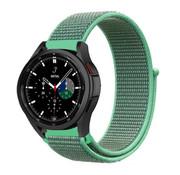 Strap-it® Samsung Galaxy Watch 4 Classic nylon band (mint)
