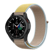Strap-it® Samsung Galaxy Watch 4 Classic nylon band (camel)