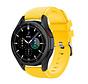 Strap-it Samsung Galaxy Watch 4 Classic 46mm siliconen bandje (geel)