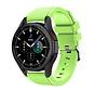 Strap-it Samsung Galaxy Watch 4 Classic 46mm siliconen bandje (lichtgroen)