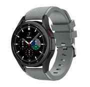 Strap-it® Samsung Galaxy Watch 4 Classic 42mm siliconen bandje (grjjs)