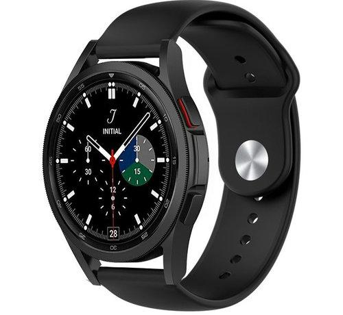 Strap-it® Strap-it® Samsung Galaxy Watch 4 Classic sport band (zwart)