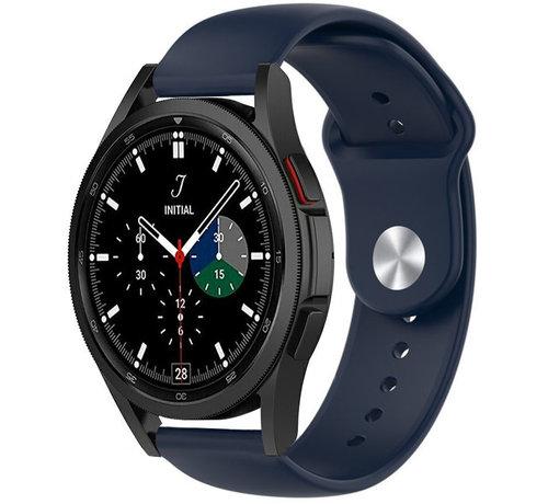 Strap-it® Strap-it® Samsung Galaxy Watch 4 Classic sport band (donkerblauw)