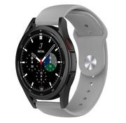 Strap-it® Samsung Galaxy Watch 4 Classic sport band (grijs)