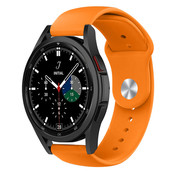 Strap-it® Samsung Galaxy Watch 4 Classic sport band (oranje)