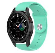 Strap-it® Samsung Galaxy Watch 4 Classic sport band (aqua)