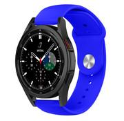 Strap-it® Samsung Galaxy Watch 4 Classic sport band (blauw)