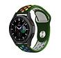 Strap-it® Samsung Galaxy Watch 4 Classic sport band (legergroen/kleurrijk)