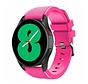 Strap-it Samsung Galaxy Watch 4 - 44mm siliconen bandje (knalroze)
