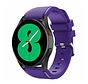 Strap-it Samsung Galaxy Watch 4 - 40mm siliconen bandje (paars)