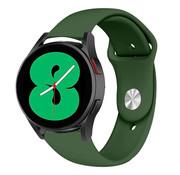 Strap-it® Samsung Galaxy Watch 4 sport band (legergroen)