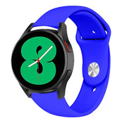 Strap-it® Samsung Galaxy Watch 4 sport band (blauw)